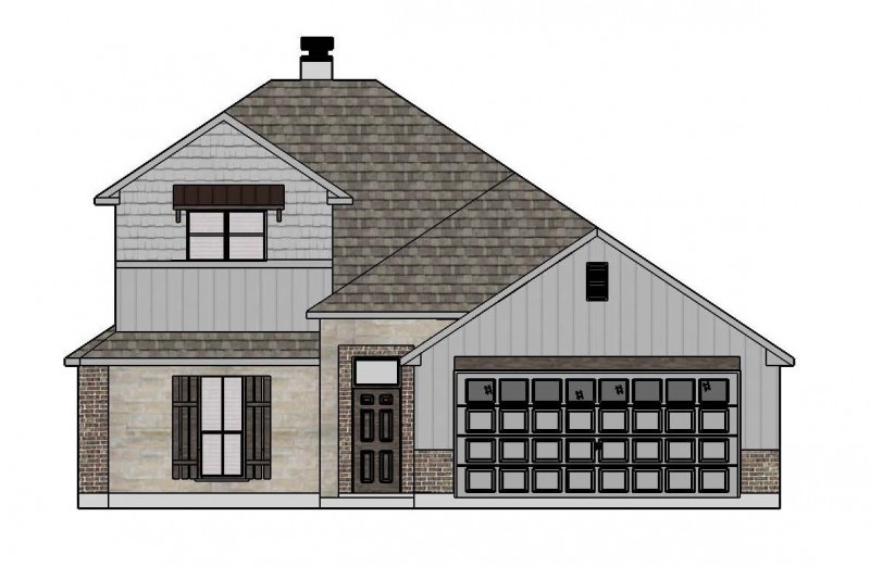 4003 SB Elevation Option 2